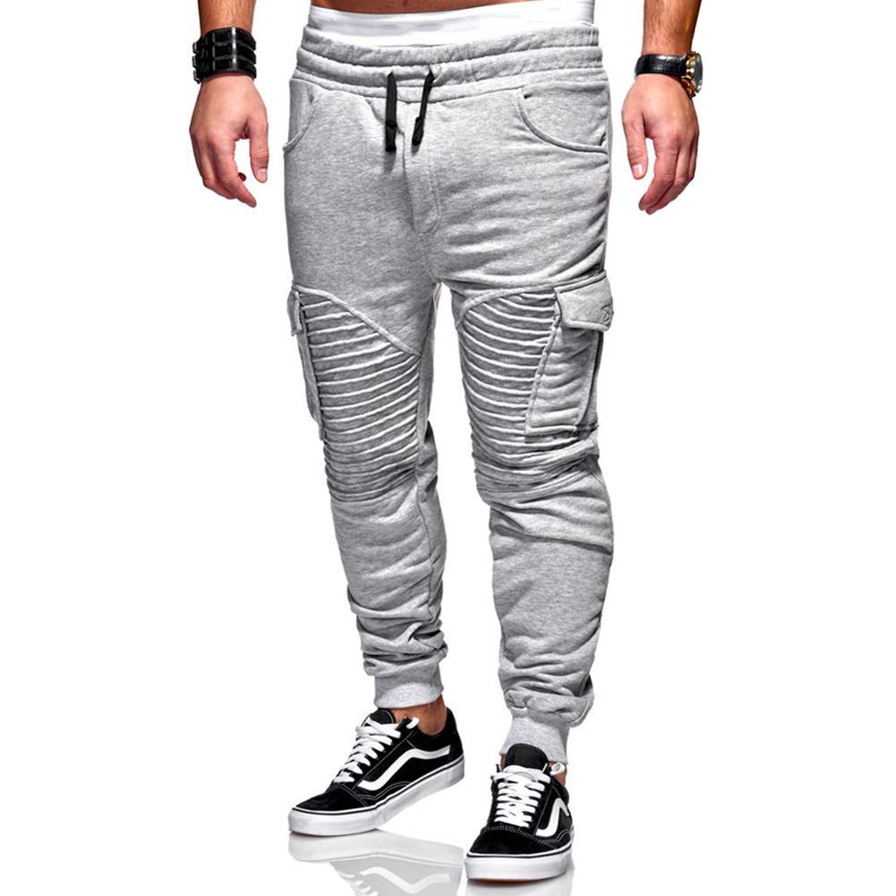 Fitness Gimnasio Pantalones Compre Patchwork Hombres Entrenando Y7yb6gf