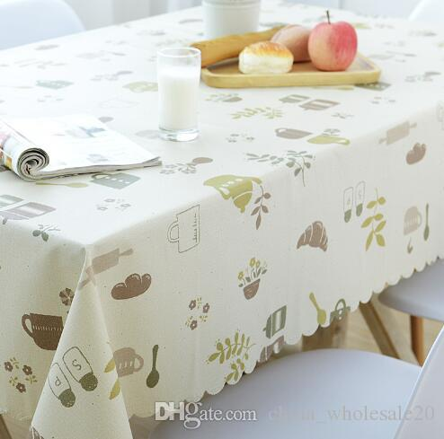 Factory Direct Garden Table Cloth Waterproof And Oil Proof Hot