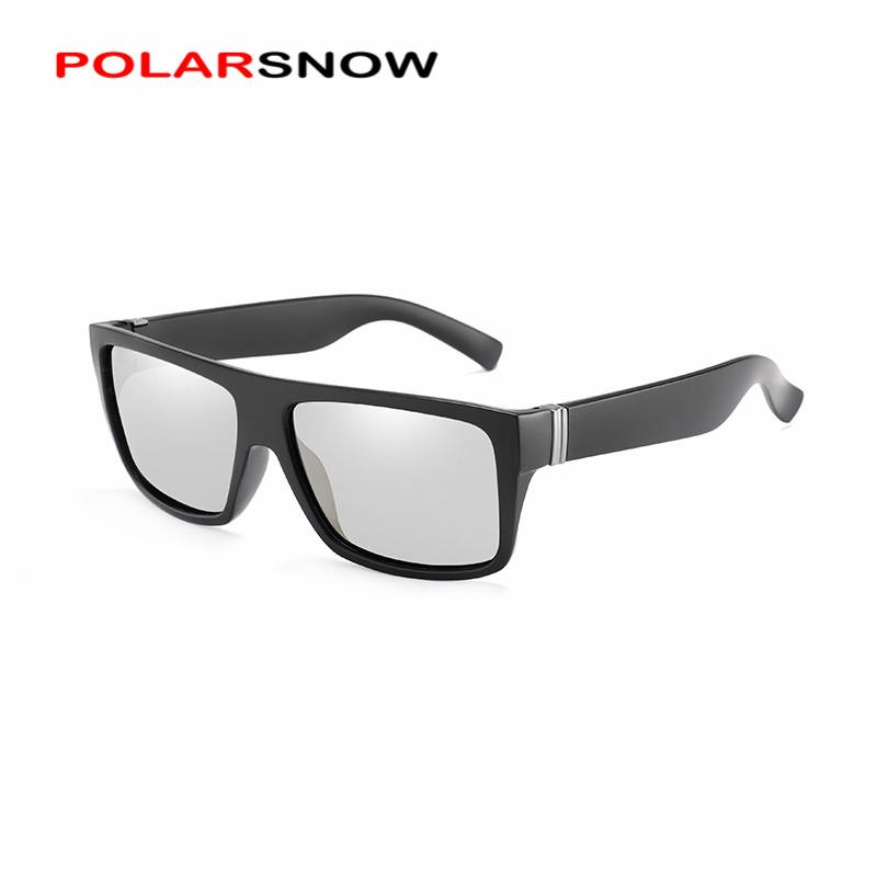 8fcd03524ee7 POLARSNOW Mens Photochromic Sunglasses With Polarized Lens For Outdoor 100% UV  Protection