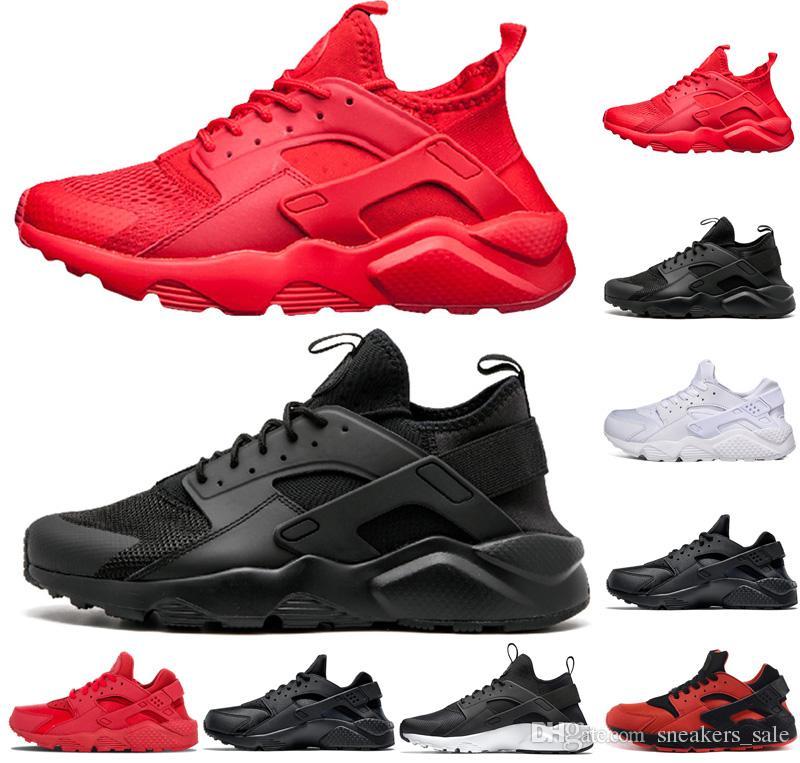7fdbcc0769b62c Scarpe Sportive Uomo Nike Air Huarache Shoes Scarpe Firmate Huarache 1.0  4.0 Scarpe Da Corsa Da Donna Da Uomo Triple Nero Bianco Huaraches Da Uomo  Scarpe Da ...