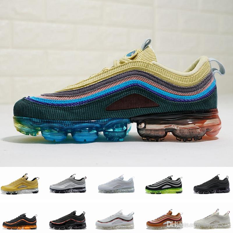 6f97ace75d14 2018 New 97 Ultra Og Plus Undefeated Air Men Women Running Shoes For Mens  Sports Sneakers Sean Wotherspoon 97s Trainers Zapatos Chaussures  Lightweight ...