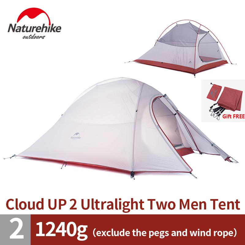 Wholesale Dhl 2 Person Naturehike Tent 20d Silicone Fabric Double Layer C&ing Tent Lightweight Only 1.24kg Nh No Kill Shelter The Shelter Pet Project From ...  sc 1 st  DHgate.com & Wholesale Dhl 2 Person Naturehike Tent 20d Silicone Fabric Double ...