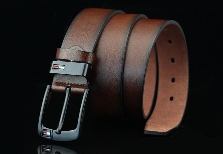 10108ff576 Acquista Cinture Da Uomo Di Alta Qualità Cuoio Con Fibbia Ad Ardiglione  Jeans Moda Cintura Cintura Designer Di Moda Cintura Da Uomo Con Cinturino  In Pelle ...