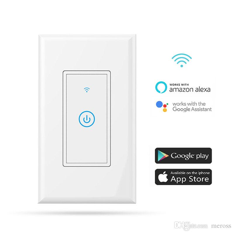 Meross Smart Wi Fi Wall Light Switch Amazon Alexa And Google ...