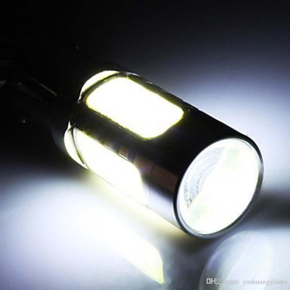 YSY 10X BA15S 7.5W High Power S25 P21W 1156 1157 Car LED Lampada stop Luce Coda Freno Reverse Fog Disabilita Lampadina 12V