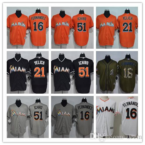 4126249bb Custom Men Women Youth Miami Marlins Jersey  21 Christian Yelich 16 ...