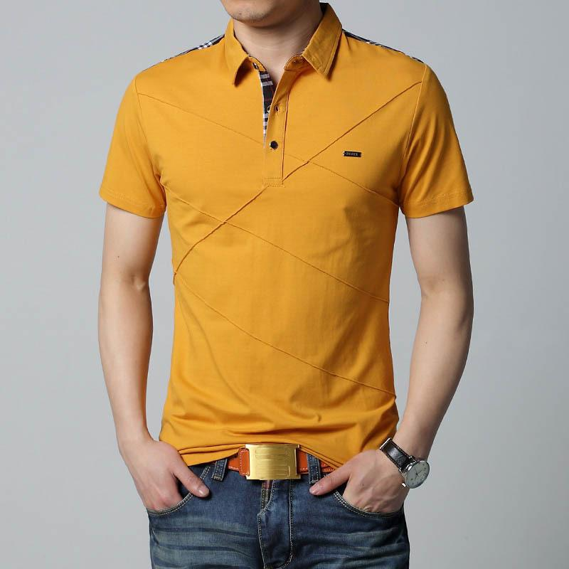 29d5a2145f8d Mens T Shirts Fashion 2017 5XL Summer T Shirt Geometric Design Turn Down  Collar Short Sleeve Cotton T Shirt Men Tee 5XL S917 Cool T Shirts Design  Designs ...