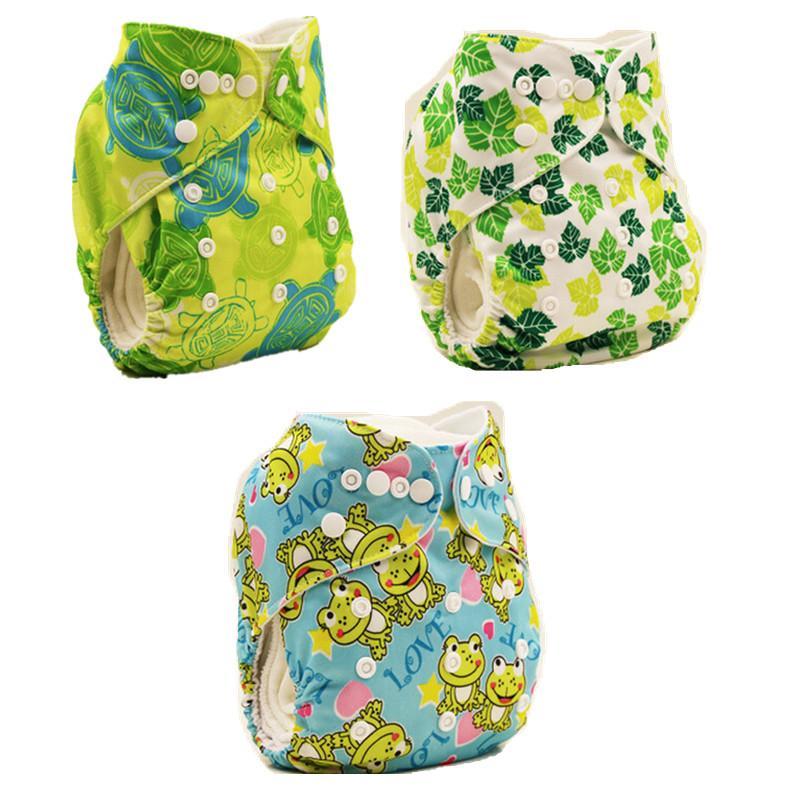 Pannolini neonati Pannolini pannolini lavabili e riutilizzabili pannolini di stoffa stile cartoon neonati bambino ragazzi ragazze bambini copertine