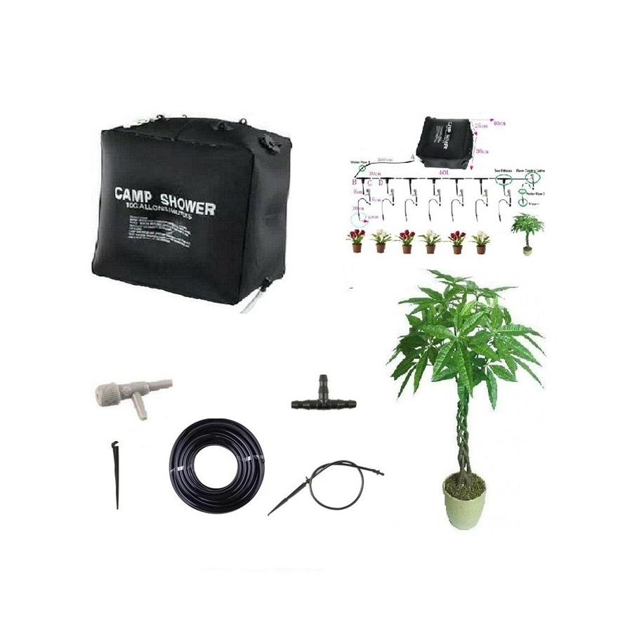 2019 40l home micro irrigation system balcony bonsai flower drip