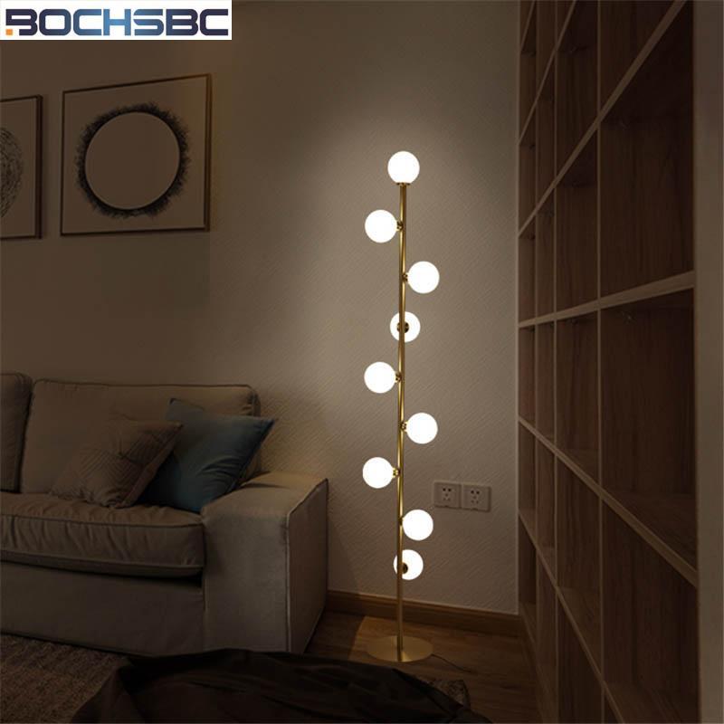 Éclairages Lampes Boules Stand Luminaire Chambre Verre Decor En Intérieurs Lampe Sol Pour Art De Moderne Gros Salon b6gvYI7fy