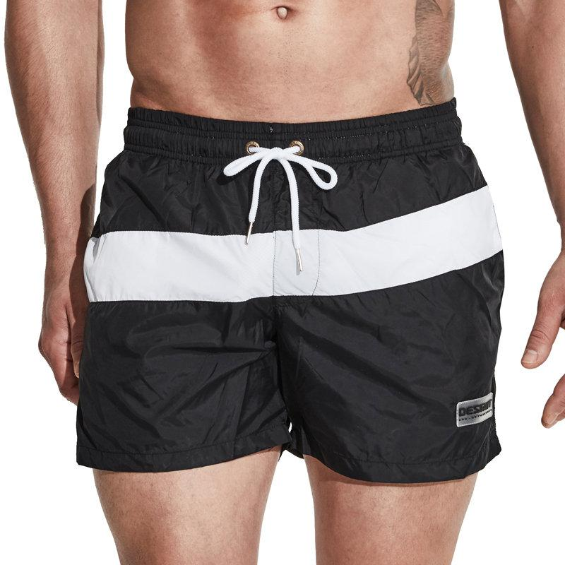 e321933116 2019 Desmiit Swimwear Men Swimming Shorts For Men Swim Boxer Swimming  Trunks Nylon Light Thin Boardshort Beachwear Plus Size Swimsuit From  Netecool, ...