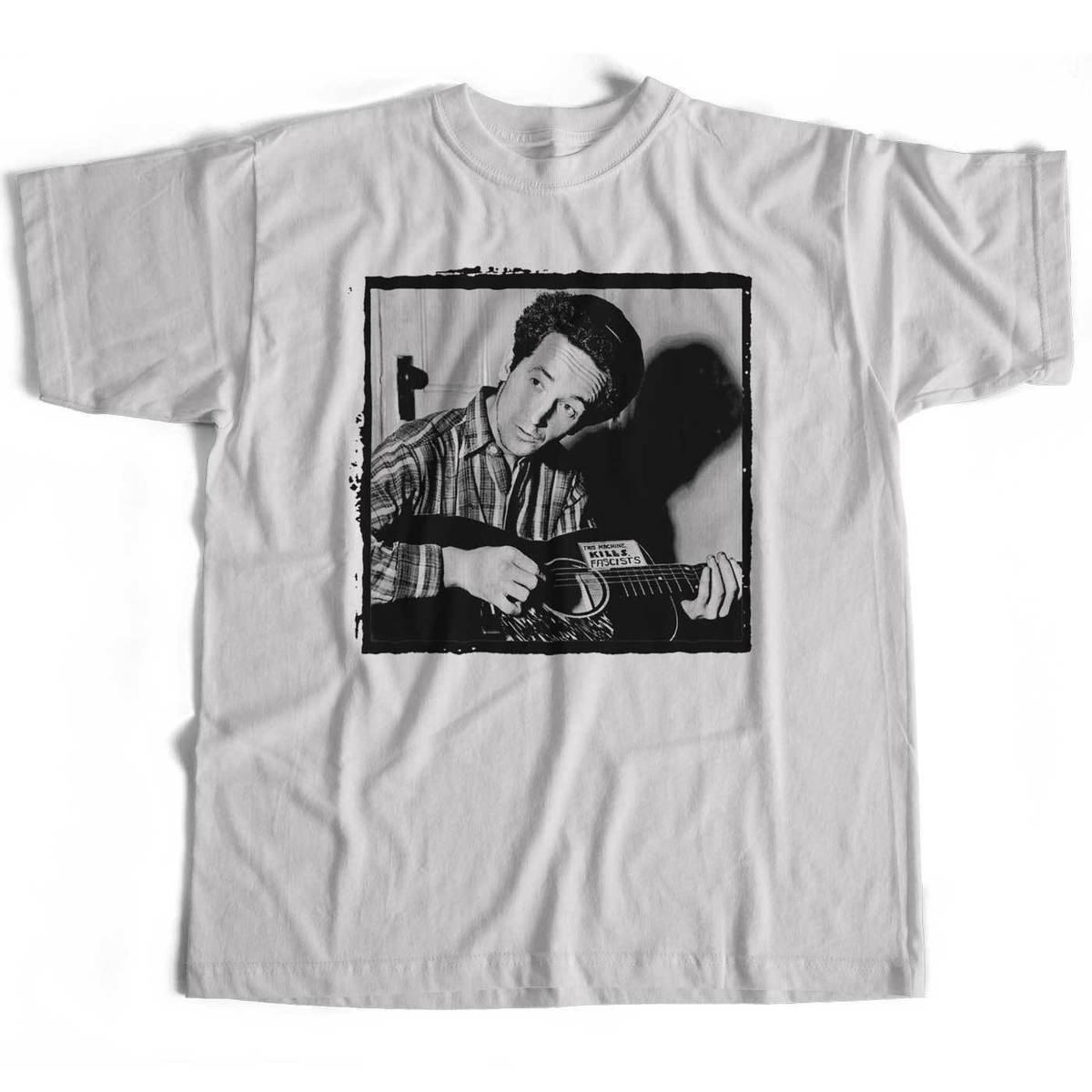 50a8c064fdd8a Compre Old Skool Hooligans Woody Guthrie Camiseta Esta Máquina Mata A Los  Fascistas Foto Luz 100% Algodón Moda Camisetas Camiseta A  14.67 Del  Linnan005 ...