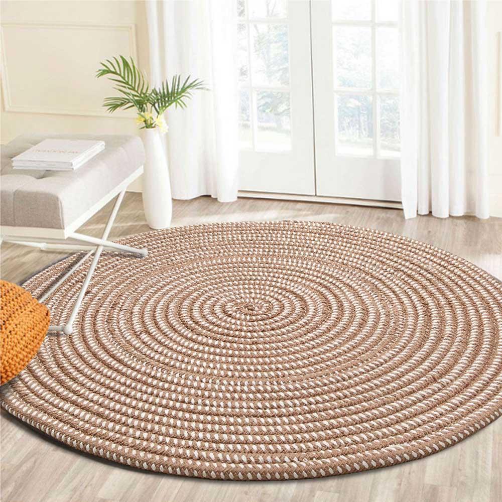 Grosshandel Knit Runde Teppiche Fur Wohnzimmer Computer Stuhl Bereich