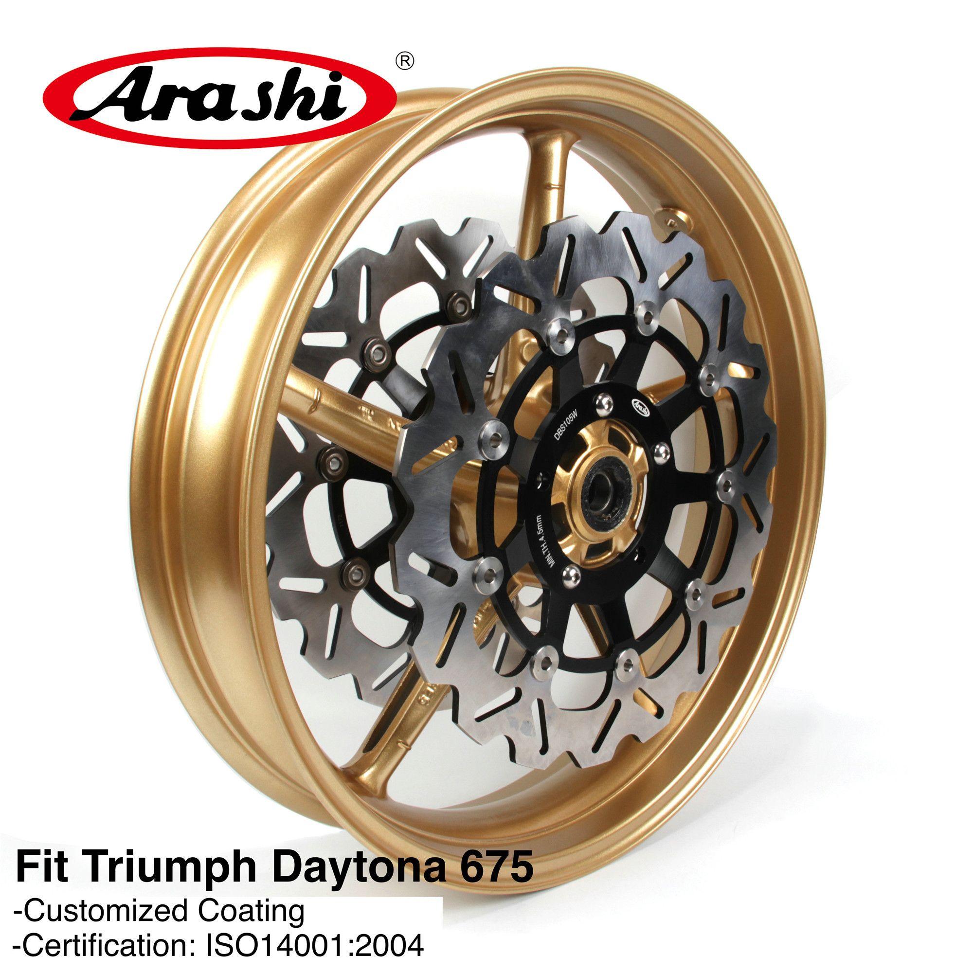 2019 Arashi For Triumph Daytona 675 2006 2012 Front Wheel Rim Brake