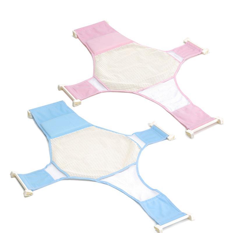2018 Newborn Non Slip Baby Bath Tub Seat Baby Shower Bed Bathing ...