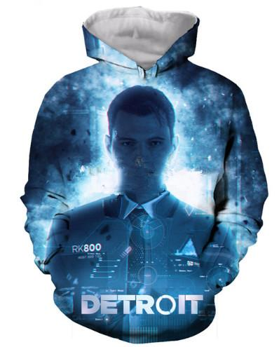 New Arrive Popular Detroit   Become Human Series Men Women 3D Print Harajuku  Style T Shirt  Sweatshirts  Hoodies Casual Tops S-XXXXL H24 Unisex Clothes  ... 41ebff854cb0