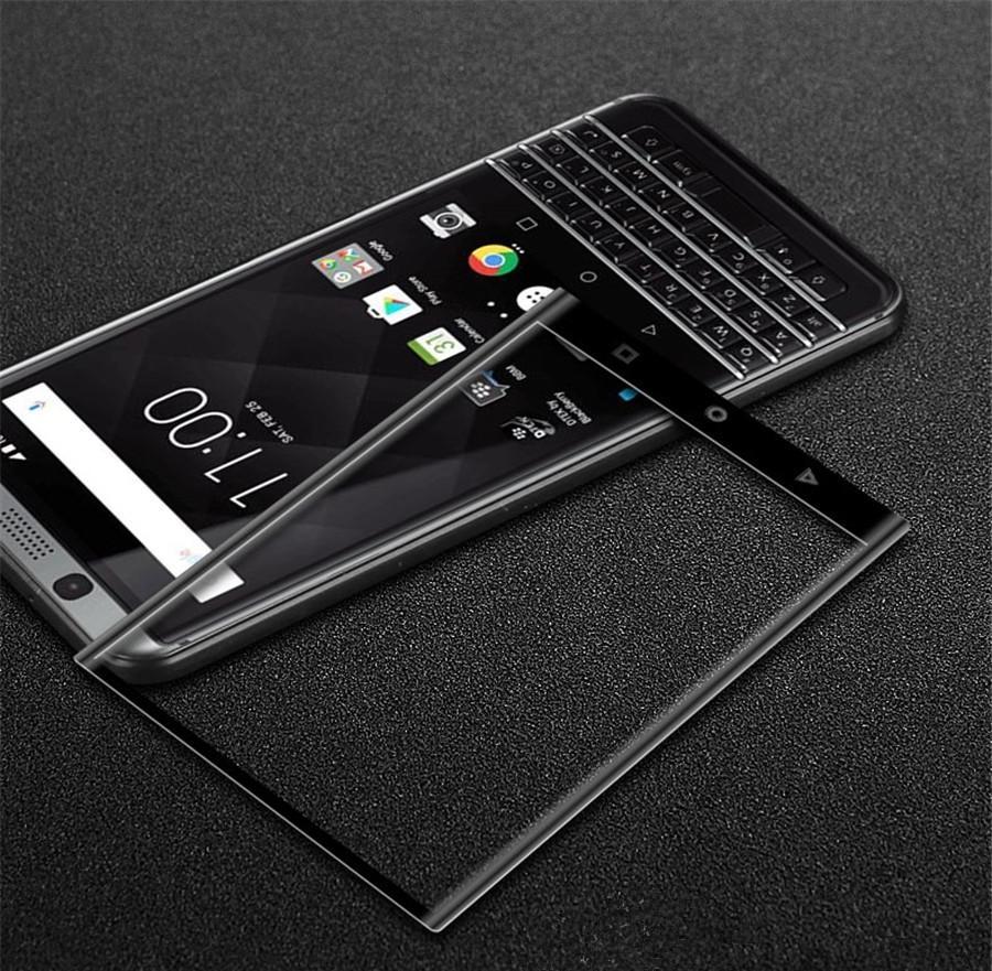 Cobertura completa 3D Curvo Lado Para Blackberry Keyone Blackberry Key2 dois Priv Protetor de Tela De Vidro Temperado 0.2 MM com Pacote de Varejo