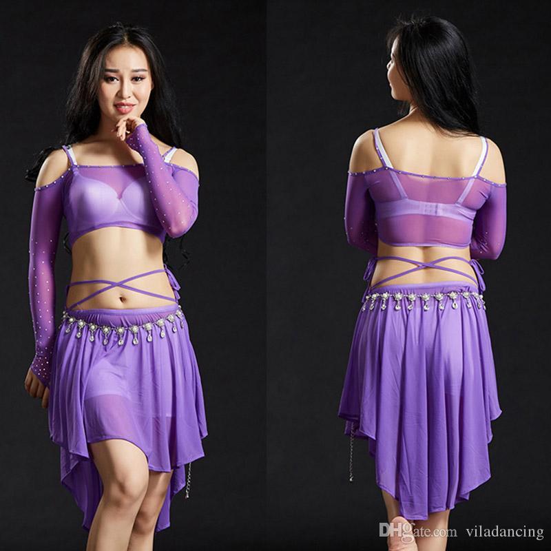 Vêtements Pratique Costume Acheter De Danse Danse Du Nouveau Ventre IUIBq
