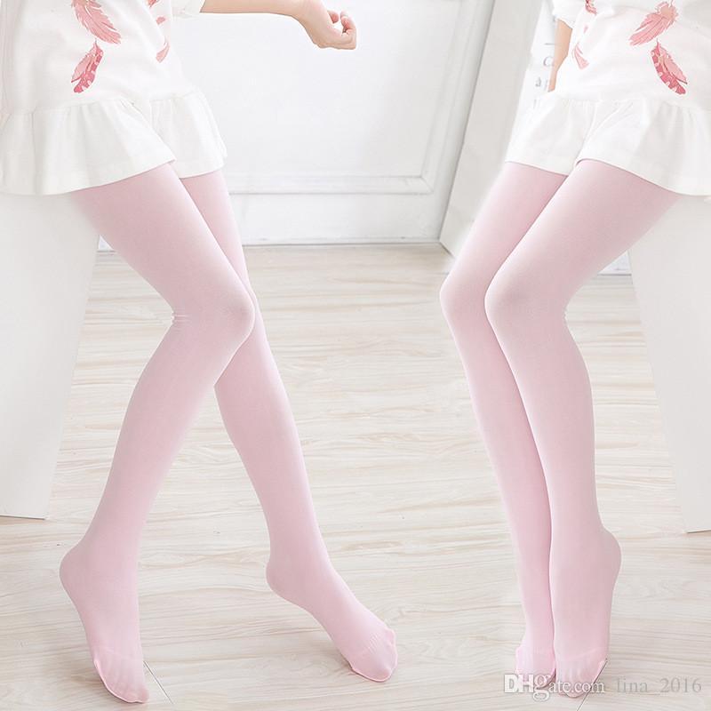 7bb054c552d 2019 Children Velvet Leggings Dance Pants Socks Kids Girls Thin High  Elasticity Ballet Bottom Socks Wholesale B0221 From Lina 2016