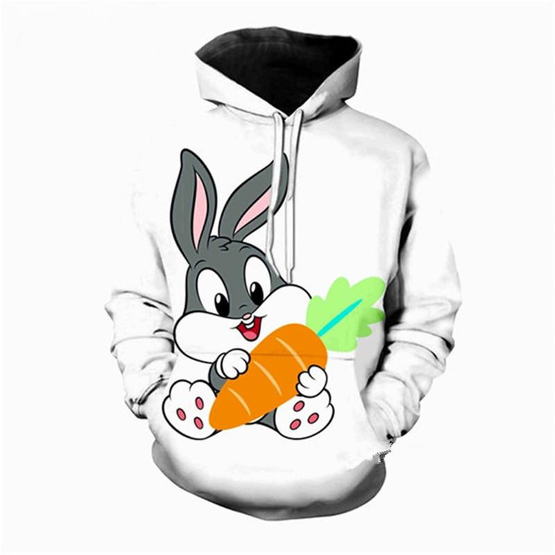 Dessinée 3d Bugs Bunny Date Acheter Imprimer De Hoodies Mode Bande 0xEq7aOH