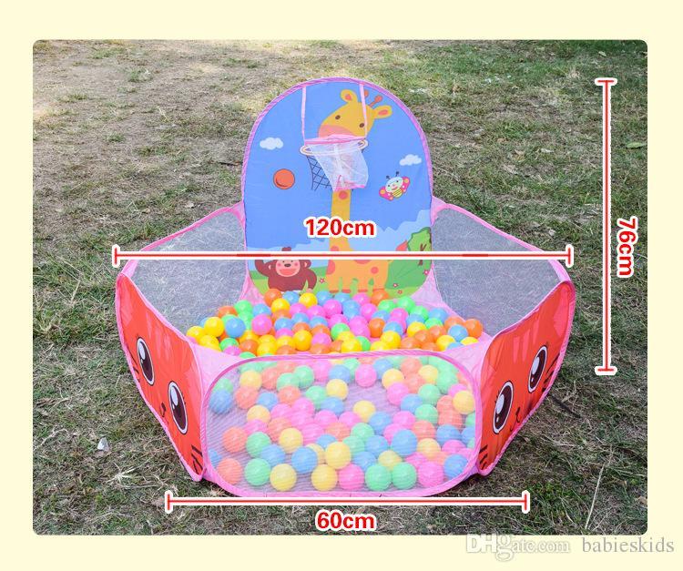 Parc de bébé Jouet Tentes Enfants En Plein Air IntérieurOcean Ball Pool Pit Garçons Filles Tente De Jeu Enfants Pliable Parcs De Jeux Piscine Pour Enfants Cadeaux