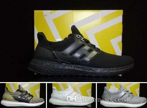 35901c88ae961 2019 Ultra Boost 3.0 Triple Black Running Shoes Wholesale Prices For Sale  Hot Sales Ultra Boost Shoes CG3038 1 From Soccersjersey