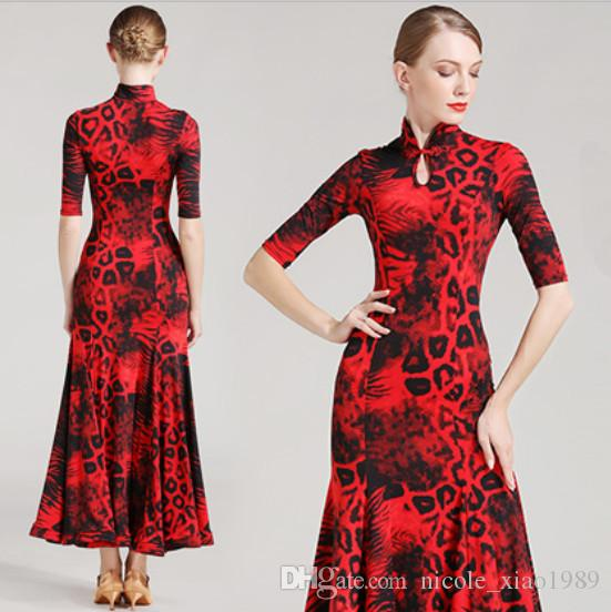 Adult Girl Ballroom Dance Dress Modern Waltz Tango Standard