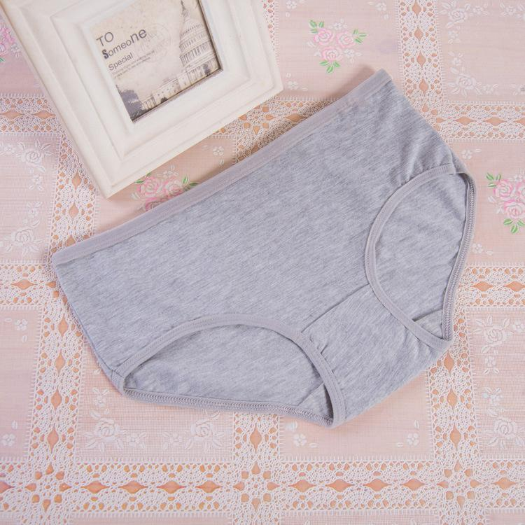 Fashion Sexy Women's Cotton Underwears Women's Briefs Ladies Panties Breathable Underpants Girls Knickers for Female M L XL XXL