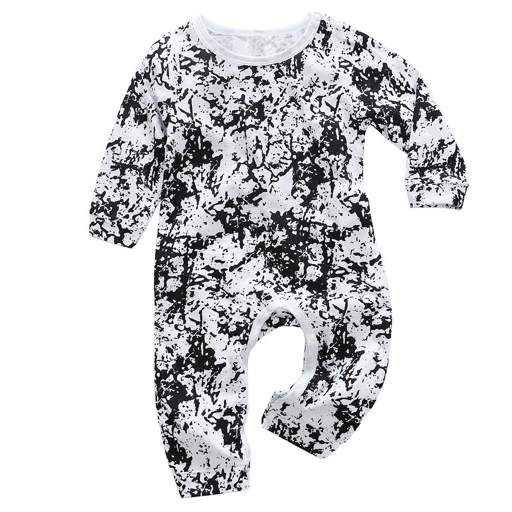 2019 Hip Hop Newborn Toddler Infant Baby Girls Print Romper Letter Jumpsuit  Clothes Long Sleeve Baby Boys Rompers Cool From Bdshop a4bda7e9386