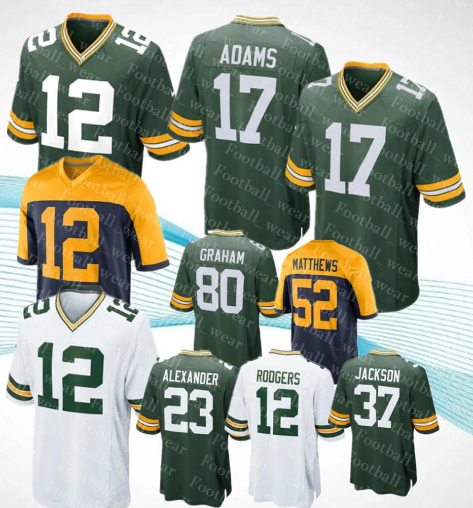 90461f2c5 Mens Women Green Bay Kids Packers Jerseys 88 TY MONTGOMERY Aaron ...