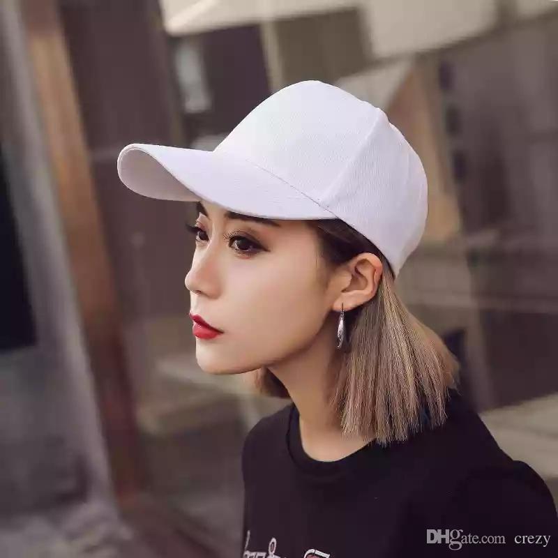 Hats Men And Women Summer Version Of The Korean Version Of Yipa Hipster Casual Students Street Black Sun Shade Baseball Caps