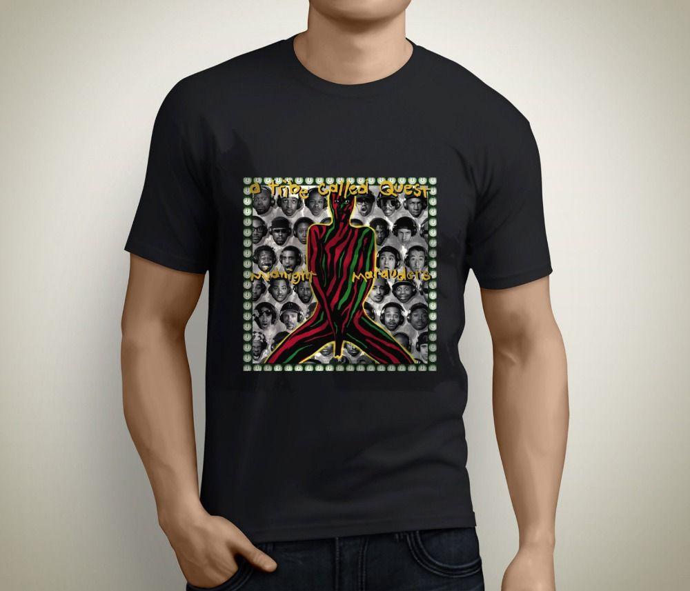 Stranger Things Design T Shirt 2018 New Men's Crew Neck Short Sleeve Best  Friend A Tribe Called Quest Rap Hip Hop Album Shirts