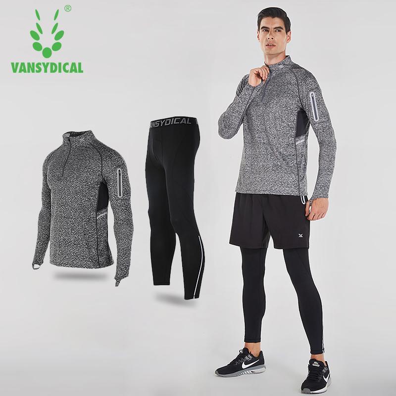 Acquista All ingrosso 2017 Vansydical Mens Tuta Sportiva Tute Da Corsa Uomo  Abbigliamento Da Palestra Allenamento Tute Sportive Maglia Da Basket Tute Da  ... 80ea5881180
