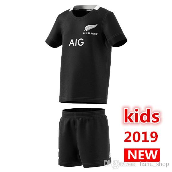 2019 New All Blacks Kids Mini Kit Home Rugby Jerseys Super Rugby ... 7b20b5691