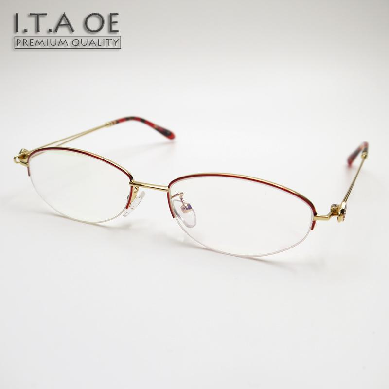 4db465f1781 2019 ITAOE Grace 1 Half Semi Rim Style Alloy Wire Design Women Female  Myopia Reading Optical Eyewear Frames Glasses Spectacles 15.8g From  Lbdwatches