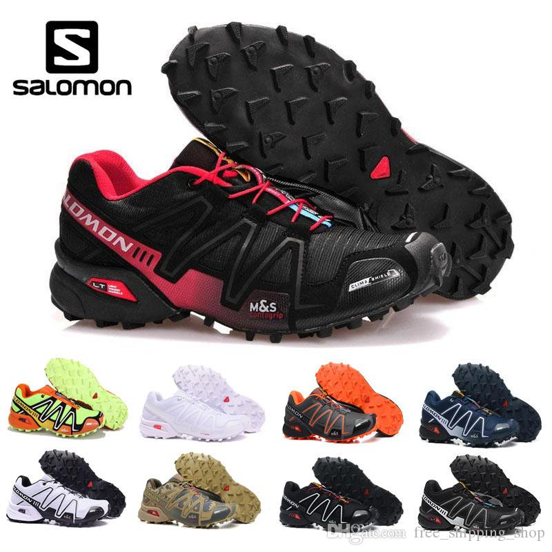 683354bc3b5 Salomon Speedcross 3 Trail Runner for men Luxury Casual Shoes mens popular  red white black blue running shoes size 40-46