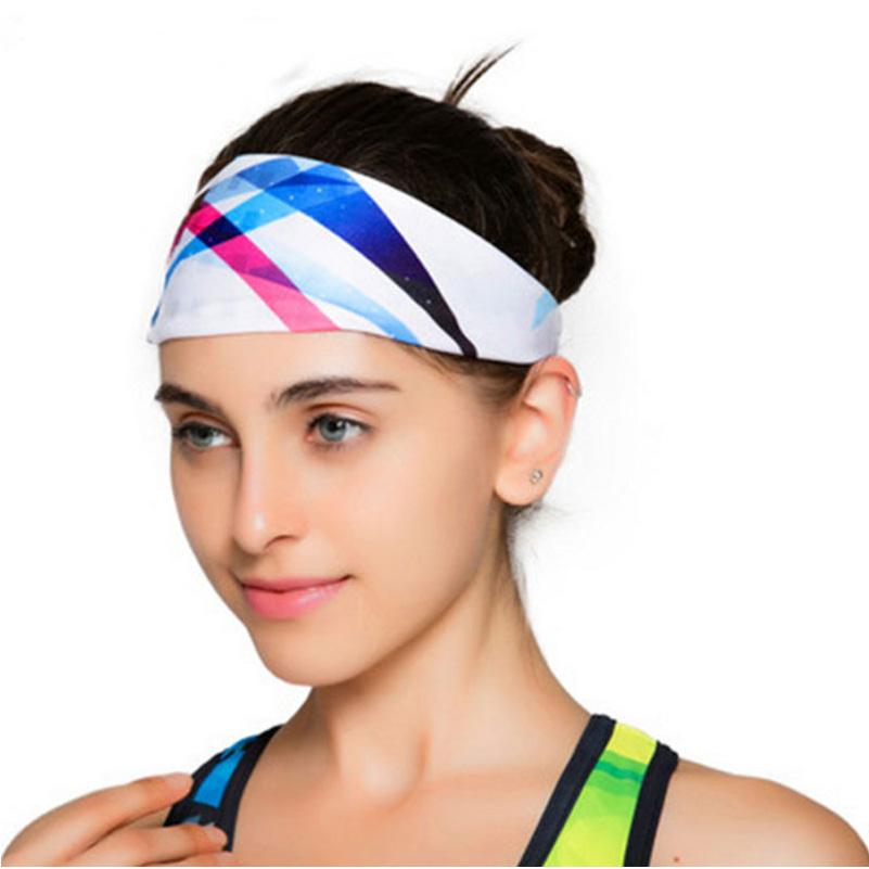 2019 2017 Yoga Hair Bands Women S Wide Sports Yoga Headband Stretch  Hairband Elastic Cotton Hair Band Turban From Pothos 24e47f38fd1