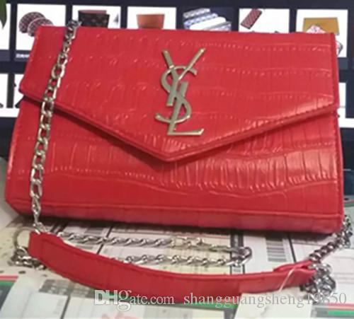 2018 HOT Designer Handbags High Quality Luxury Handbags Brand Name Handbags  PU Leather Chain Shoulder Bag Leather Bags For Men Evening Bags From ... 173f9ddec6e82