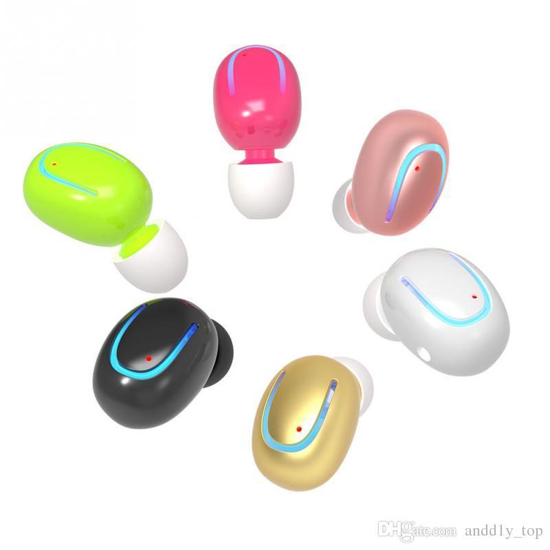 Q13 Bluetooth Kopfhörer Englisch Stimme Business Headset Wireless Kopfhörer Mini unsichtbare Anrufe Ohrhörer mit Mikrofon für Handys Samsung Xiaomi