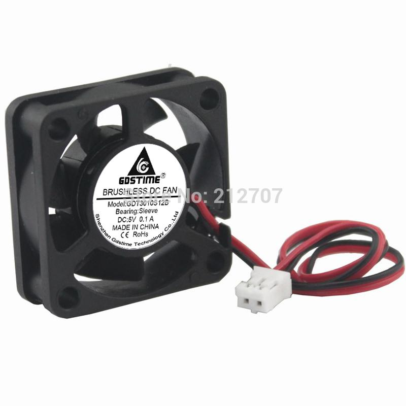 video cooler 1PCS Gdstime Mini 30mm DC 5V 2Pin 30x10mm 3cm Computer PC VGA Video Cooler Cooling Fan