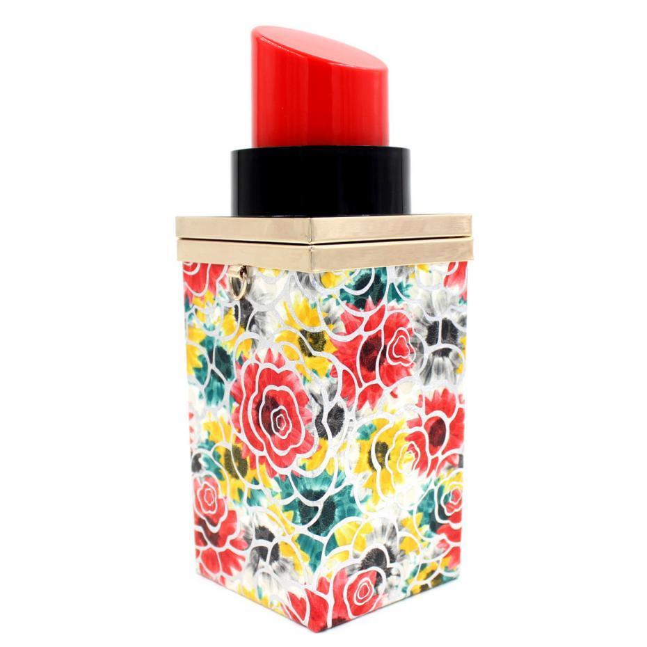 Fashion Luxury Acrylic Sexy Women Handbag Chain Shoulder Messenger Bag Mini Lipstick Perfume Bottle Clutch Purse Evening Bag