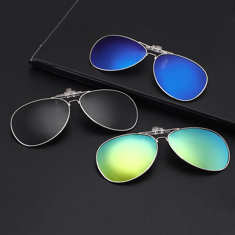 332e87adfac Round Frame Polarized Sunglasses Clip On Myopia Glasses For Driving  Traveling Night Vision Easy Flip Up Sunglass Oculos Polarised Sunglasses  Baby Sunglasses ...