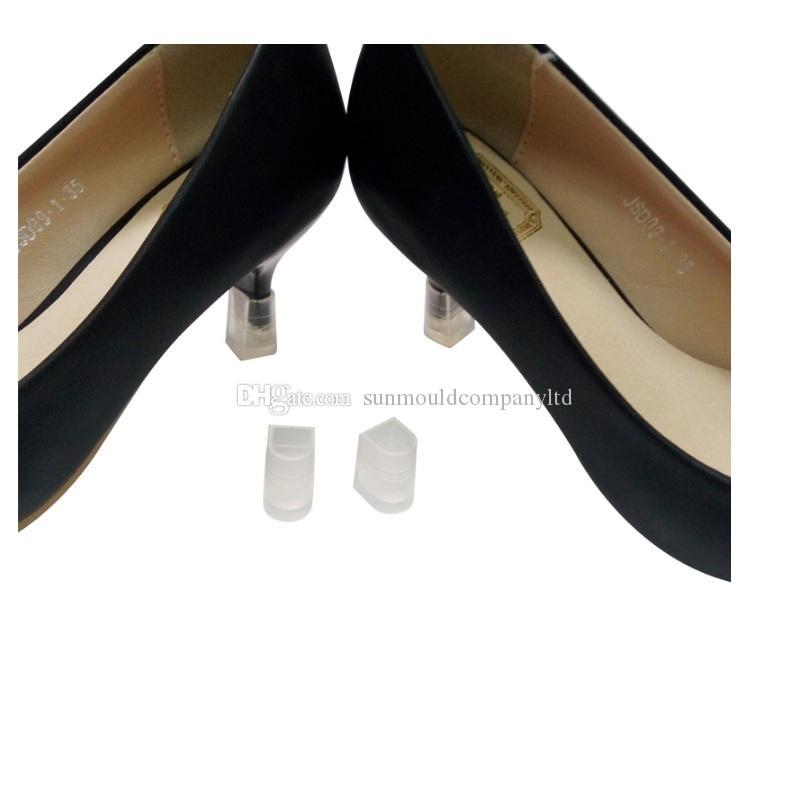 7 taglia Tacco Alto Protector Latino Stiletto scarpe da ballo Copre tallone Tappi tappo di copertura Antiscivolo la Festa Nuziale e scarpe di uso quotidiano regalo