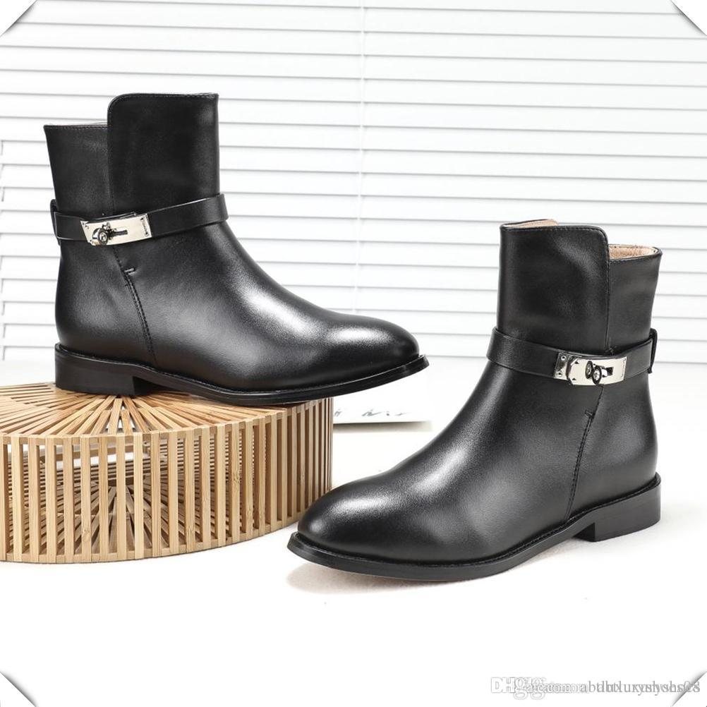 f80bbd5e511e Ankle Boots Luxury Platform Square Heel Soft Booties Causal Knight Ladies  Boots Single Vintage Short Booties Slip On Sexy Buckle Shoes Woman Chelsea  Boot ...