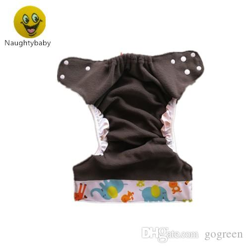Newest Bamboo Cloth Diapers With Double Guggest For Baby Girls and BOYs