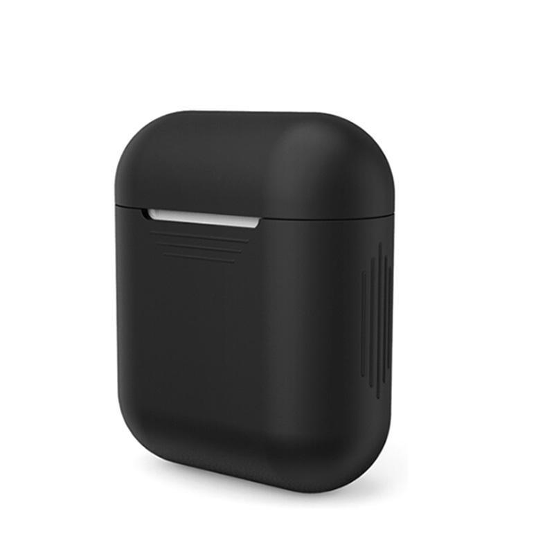 2018 جديد لابل airpods سيليكون حالة لينة tpu رقيقة جدا حامي غطاء كم الحقيبة ل air pods سماعات حالة