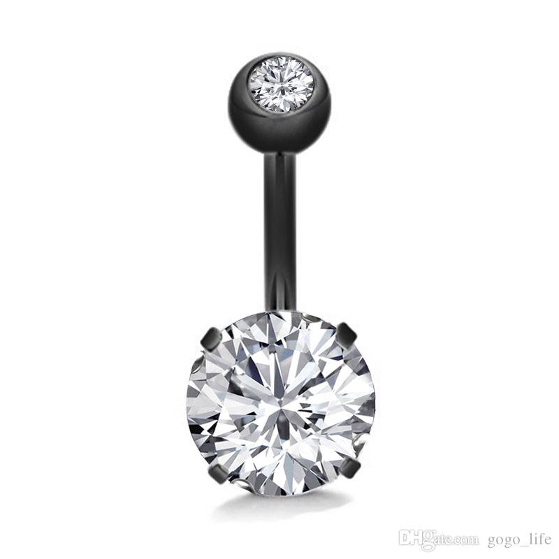 Body Piercing Surgical Steel Navel Ring