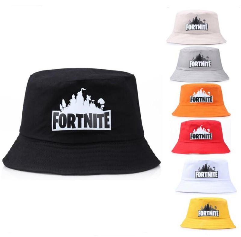 9b68a16c Game Fortnite Bucket Hat Cotton Colorful Fisherman Hats Fortnite ...