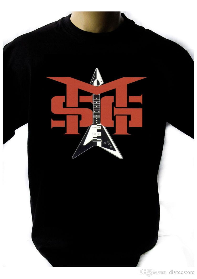 9951fa62a96 ... Schenker Group Logo Black New T Shirt Rock Band Shirt Rock Tee T Shirt  Men Top Design Custom Short Sleeve Love My Cat Tshirt On T Shirt Tourist  Shirts ...