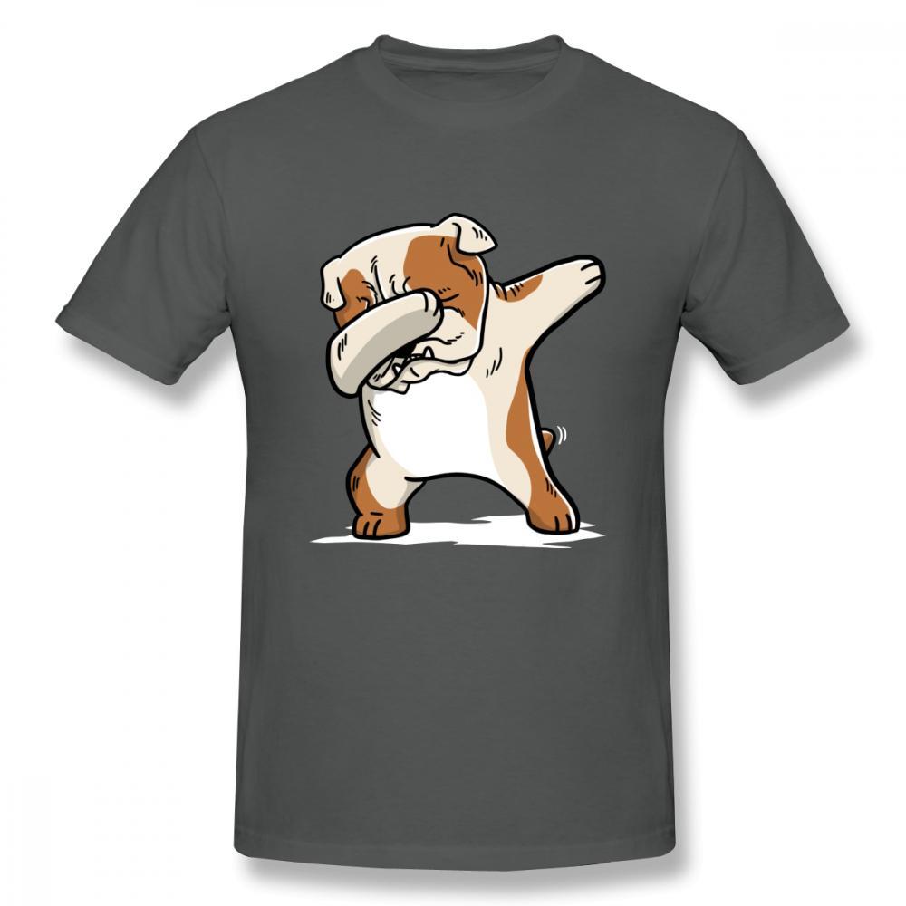 0eef0016 New Casual Dabbing English Bulldog T Shirt Man 2018 New Fashion Dab Dog  Camiseta Mens T Shirts Funny Shirts From Lanfystore, $24.2  DHgate.Com
